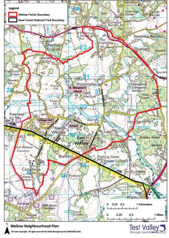 Wellow-Neighbourhood-Plan-Map-1